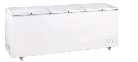 1528L Static Cooling Low Power Top Open Three Solid Doors Commercial Refrigerator, Chest Freezer