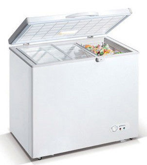 428L Commercial Horizontal Refrigerator , Saving-energy Chest Freezer For Meat,Food,Ice Cream